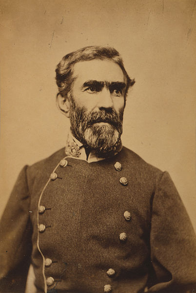 CSA General Braxton Bragg, President Davis's favorite and everyone else's headache.
