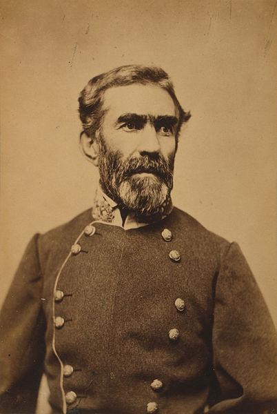 CSA General Braxton Bragg, President Davis's favorite and everyone else's headache.