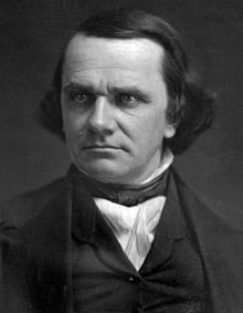 Senator Stephen A. Douglas. He won the Lincoln- Douiglas Debates but lost the election.