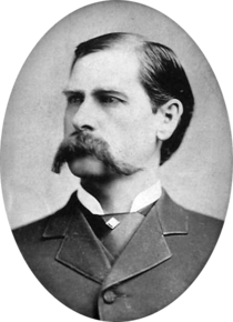 Wyatt Berry Stapp Earp, frontier marshal, ganbler, gunfighter and legend.