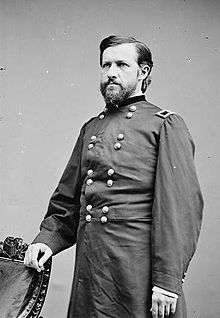 General Thomas Ewing Jr,, foster brother to General William Tecumseh Sherman