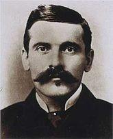 John Henry Holliday, dentist, gambler, alcoholic and gunfighter.