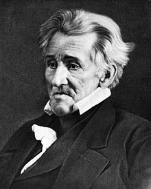 Andrew Jackson, Indian fighter and President; responsible for the Trail of Tears
