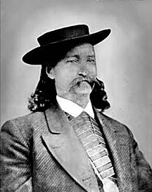 """James Butler """"WIld Bill"""" Hickok, legendary lawman, shootist and gambler"""