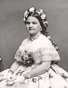 Mary Todd Lincoln, wife of President Abraham Lincoln