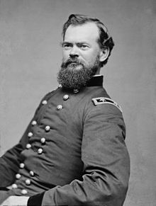 US General James B. McPherson, the highest ranking Union General killed in combat on July 22, 1864.
