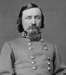 CSA General George Pickett, sartorial dandy and lowest in his class at West Point,
