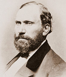 """Allen Pinkerton. founder of the Pinkerton Detective Agency, creator of the """"Private Eye"""" concept"""