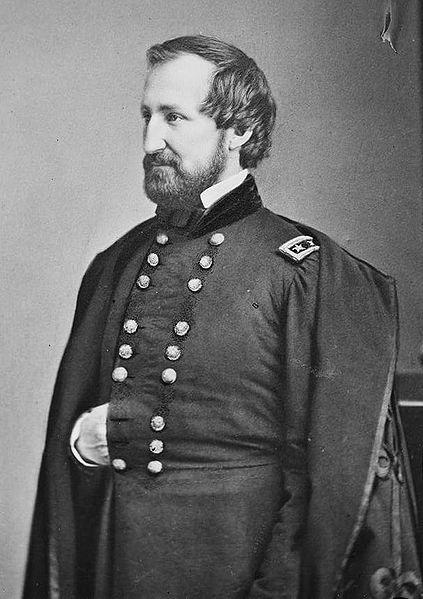 """US General William """"Old Rosey"""" Rosecrans"""