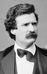 Samuel Langhorne Clemens, also known as Mark Twain, humorist and author