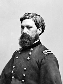 Union General Oliver Otis Howard, he was surprised at Chancellorsville