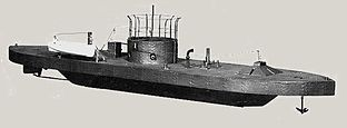USS MONITOR , Hero of the first naval Ironclad battle
