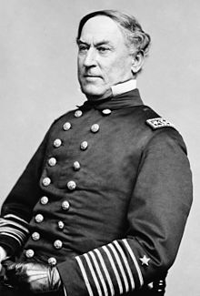 Union Admiral, David G. Farragut, hero of New Orleans