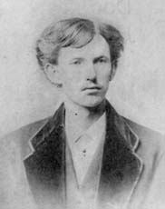 John Henry Holliday (age 20) last confirmed photograph