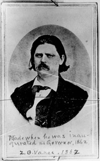 Confederate General, Zebulon Vance