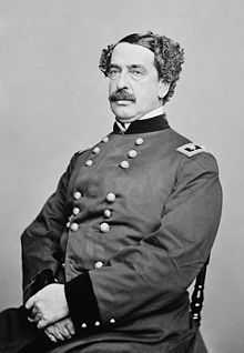 Major General Abner Doubleday, Union officer and falsely credited with inventing baseball.