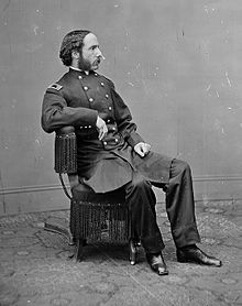 Major Henry Rathbone, another unwilling witness to the assassination of President Abraham Lincoln