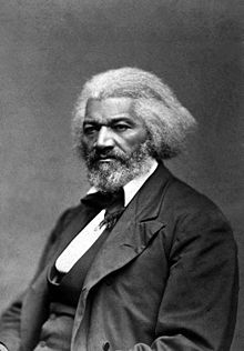 Frederick Douglass, born Frederick Augustus Washington Bailey. He was born a slave, but became an Abolitionist, Suffragist, Author, Editor, and Diplomat