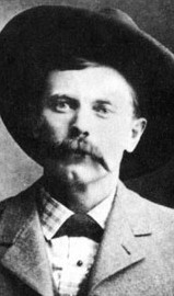 US Marshal George Scarborough, former outlaw and the killer of John Selman, Sr, the killer of John Wesley Hardin