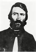 Pro-slavery Douglas County Sheriff Samuel J. Jones, instigator of the Lawrence raid