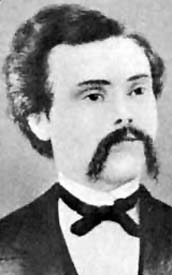 Alexander McSween (circa 1875) lawyer for John Tunstall, victim of Lincoln County War in 1881