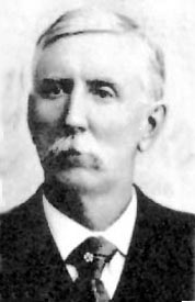 Joseph G. McCoy, he built Abilene into a destination for the trail herds